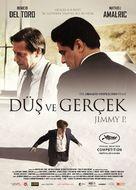 Jimmy P. - Turkish Movie Poster (xs thumbnail)