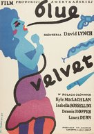Blue Velvet - Polish Movie Poster (xs thumbnail)
