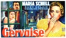 Gervaise - Belgian Movie Poster (xs thumbnail)