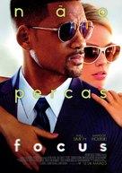 Focus - Portuguese Movie Poster (xs thumbnail)