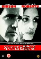 Conspiracy Theory - British DVD movie cover (xs thumbnail)