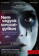 I Am Not a Serial Killer - Hungarian Movie Poster (xs thumbnail)