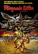 Piranha Part Two: The Spawning - German Movie Poster (xs thumbnail)