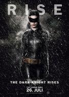 The Dark Knight Rises - German Movie Poster (xs thumbnail)