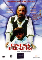 Nuovo cinema Paradiso - Hungarian Movie Cover (xs thumbnail)