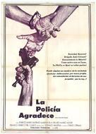 La polizia ringrazia - Spanish Movie Poster (xs thumbnail)