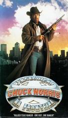 """Walker, Texas Ranger"" - Brazilian VHS movie cover (xs thumbnail)"