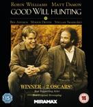 Good Will Hunting - British Blu-Ray movie cover (xs thumbnail)