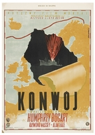 Action in the North Atlantic - Polish Movie Poster (xs thumbnail)