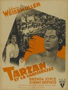 Tarzan and the Huntress - French Movie Poster (xs thumbnail)