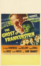 The Ghost of Frankenstein - Theatrical poster (xs thumbnail)