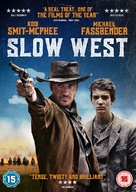 Slow West - British DVD movie cover (xs thumbnail)