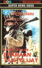 The Life and Times of Grizzly Adams - Finnish VHS movie cover (xs thumbnail)