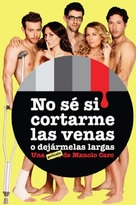 No sé si cortarme las venas o dejármelas largas - Mexican Movie Poster (xs thumbnail)
