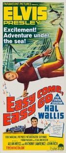 Easy Come, Easy Go - Australian Movie Poster (xs thumbnail)
