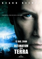The Day the Earth Stood Still - Italian Movie Poster (xs thumbnail)