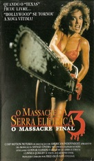 Hollywood Chainsaw Hookers - Brazilian VHS cover (xs thumbnail)
