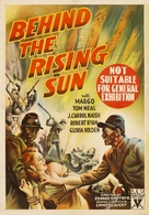 Behind the Rising Sun - Australian Movie Poster (xs thumbnail)