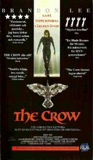 The Crow - Swedish Movie Cover (xs thumbnail)