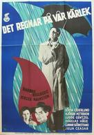 Det regnar på vår kärlek - Swedish Movie Poster (xs thumbnail)
