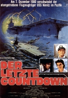 The Final Countdown - German Movie Poster (xs thumbnail)