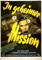Sekretnaya missiya - German Movie Poster (xs thumbnail)