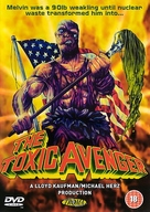 The Toxic Avenger - British DVD cover (xs thumbnail)