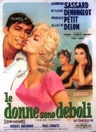 Faibles femmes - Italian Movie Poster (xs thumbnail)