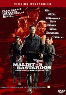 Inglourious Basterds - Spanish DVD cover (xs thumbnail)