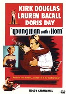 Young Man with a Horn - DVD cover (xs thumbnail)