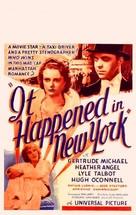 It Happened in New York - Movie Poster (xs thumbnail)
