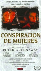 Drowning by Numbers - Spanish VHS cover (xs thumbnail)