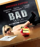 Bad Teacher - Italian Blu-Ray cover (xs thumbnail)