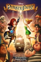 The Pirate Fairy - Movie Poster (xs thumbnail)