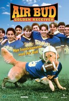 Air Bud: Golden Receiver - Danish DVD cover (xs thumbnail)
