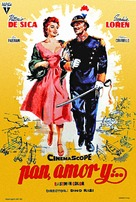 Pane, amore e... - Spanish Movie Poster (xs thumbnail)