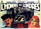 L'homme de Londres - French Movie Poster (xs thumbnail)