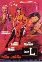 Lady L - German Movie Poster (xs thumbnail)