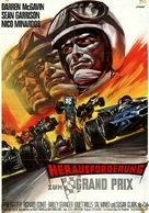 The Challengers - German Movie Poster (xs thumbnail)