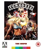 The Funhouse - British Blu-Ray movie cover (xs thumbnail)