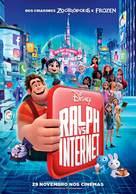 Ralph Breaks the Internet - Portuguese Movie Poster (xs thumbnail)