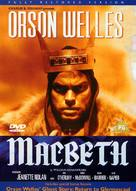 Macbeth - DVD cover (xs thumbnail)