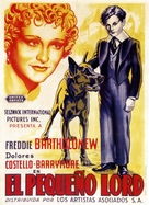 Little Lord Fauntleroy - Spanish Movie Poster (xs thumbnail)