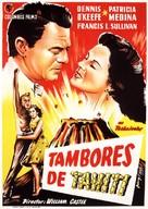 Drums of Tahiti - Spanish Movie Poster (xs thumbnail)