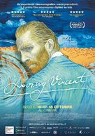 Loving Vincent - Italian Movie Poster (xs thumbnail)