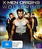 X-Men Origins: Wolverine - Australian Blu-Ray cover (xs thumbnail)