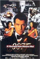 Tomorrow Never Dies - Italian Movie Poster (xs thumbnail)