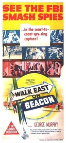 Walk East on Beacon! - Australian Movie Poster (xs thumbnail)