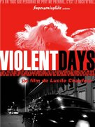 Violent Days - Dry - French Movie Poster (xs thumbnail)