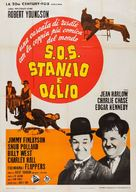 The Further Perils of Laurel and Hardy - Italian Movie Poster (xs thumbnail)